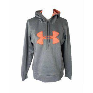 ~Women's size medium Under armour big logo hoodie